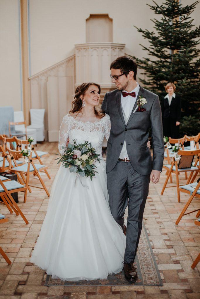 Hochzeit Angerkirche Potsdam - Franzi & Chris
