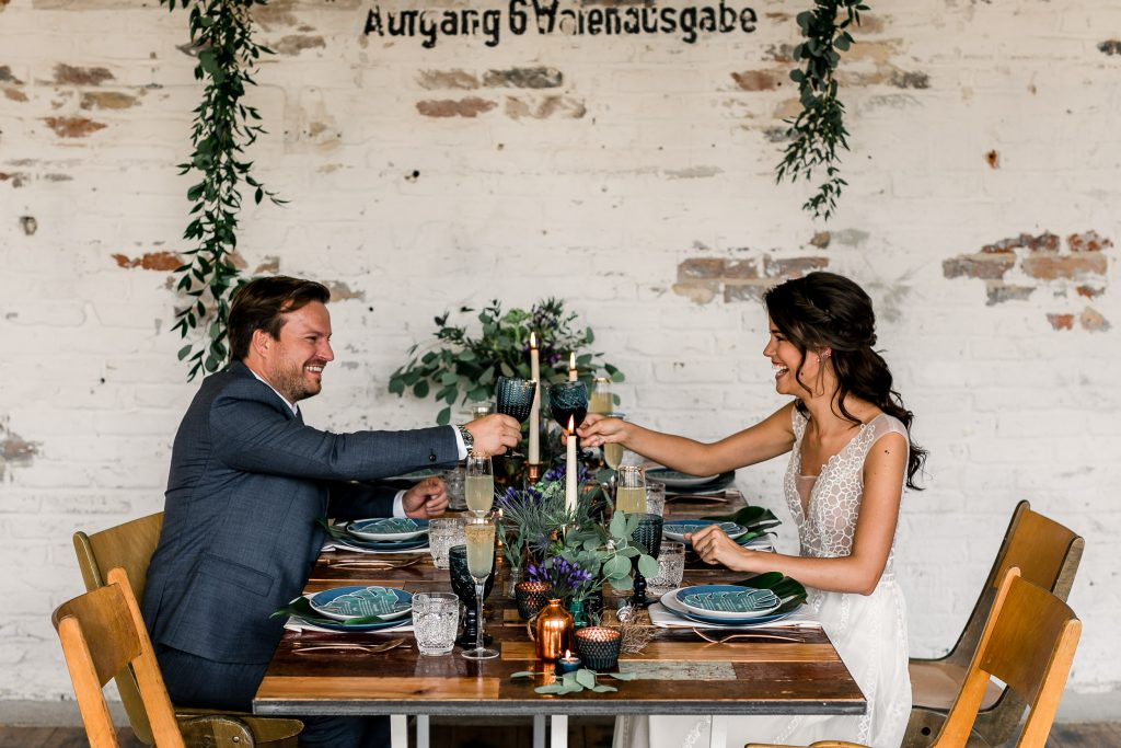 Fabrik 23 Berlin Urbane Hochzeit