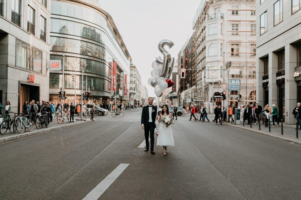 Hochzeit Friedrichstraße Berlin