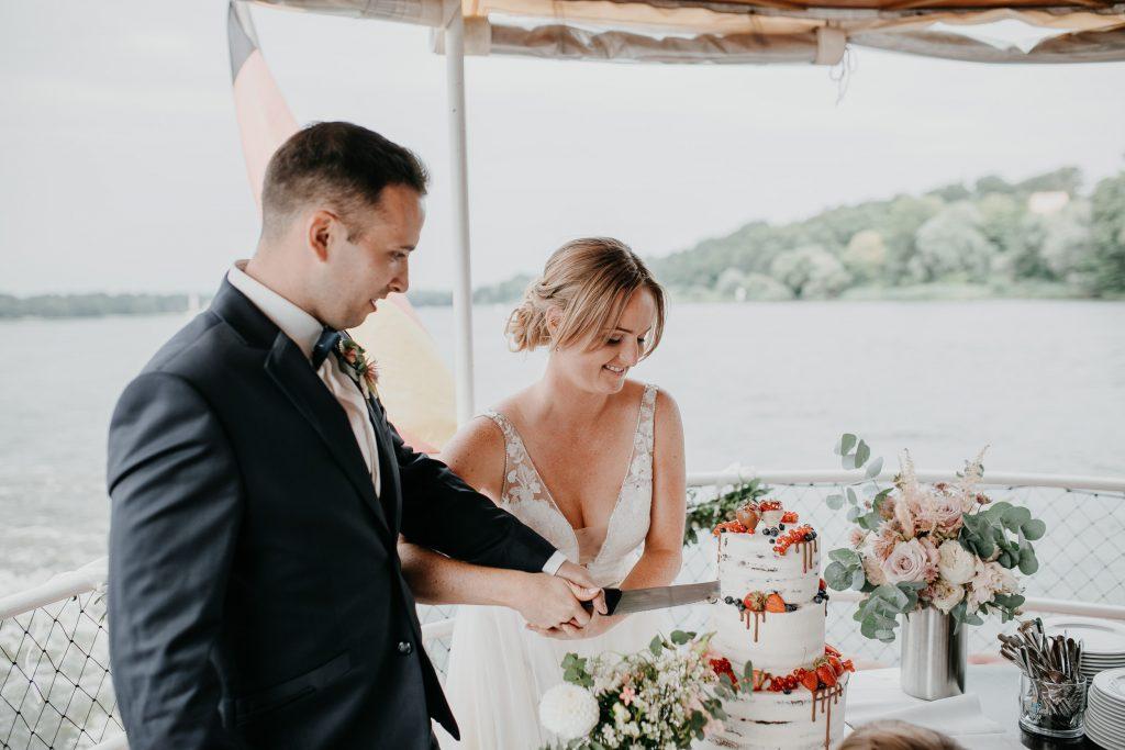 Hochzeit auf dem Wasser Potsdam